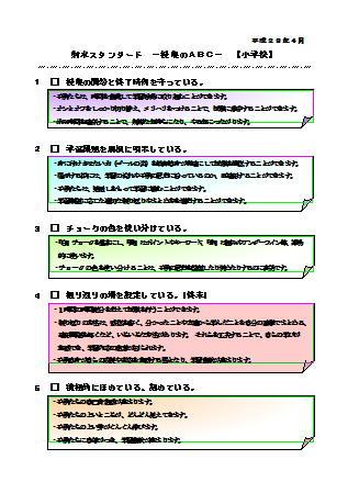 授業のABC【小学校】のイメージ